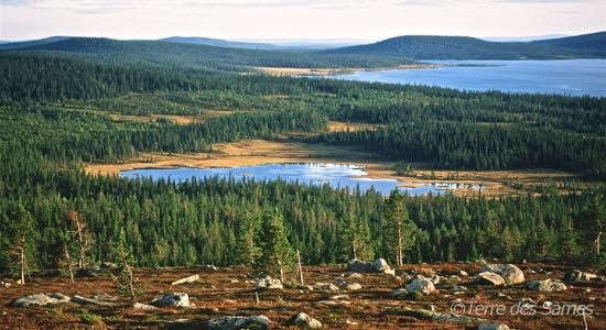 Geographie-Laponie-suedoise