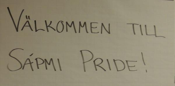 Sapmi Pride à Kiruna