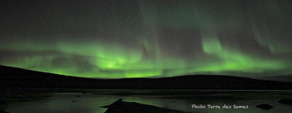 Aurore boréale Laponie Suède Kiruna