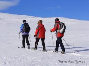 Randonnée d'hiver Kiruna Laponie