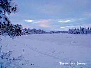 Randonnée raquettes Kiruna Suède