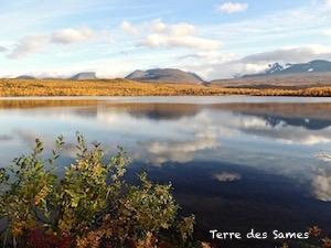 Abisko Suède Laponie automne