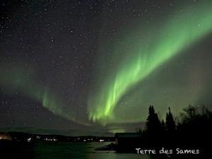 Aurore boréale Kiruna Laponie