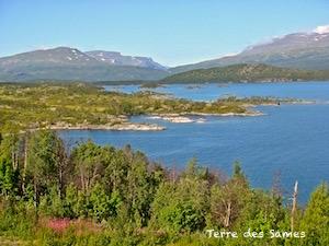 Suède Laponie Kiruna Randonnée
