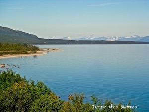 Randonnée automne Laponie Kiruna Suède