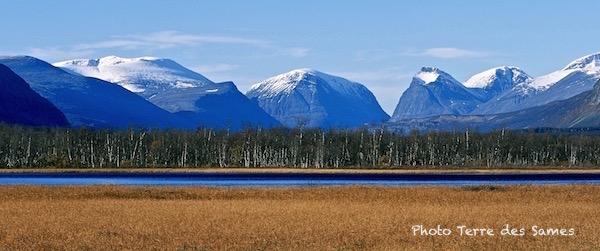 Montagnes de Laponie suédoise