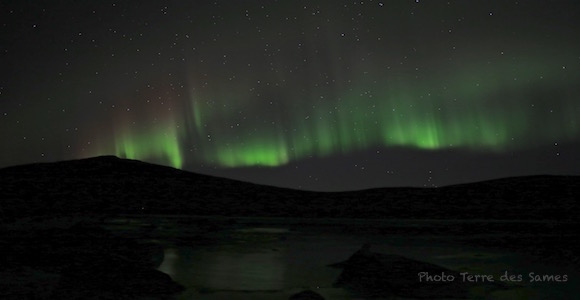 Aurore boréale Kiruna Laponie, Suède
