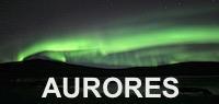 Aurores boréales Kiruna Suède Laponie