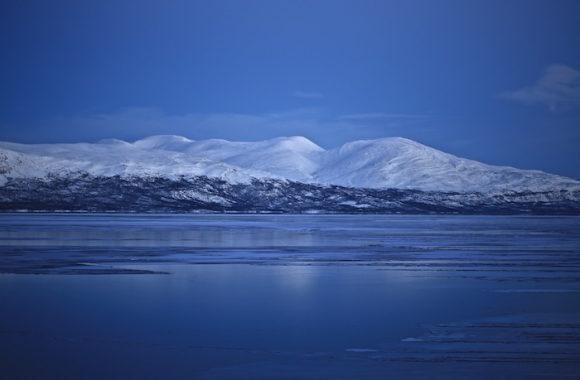 Région de Kiruna Laponie Suède