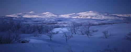 Laponie suédoise Kiruna Abisko