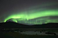 Kiruna Laponie Aurore boréale