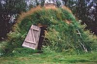 Maison de tourbe Laponie